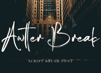 Awtter Break Font