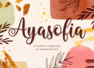 Ayasofia Font