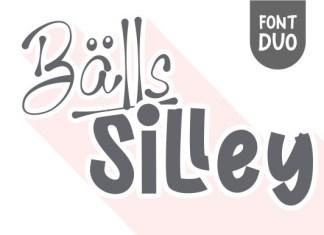 Balls Silley Font
