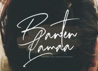 Banten Lama Font