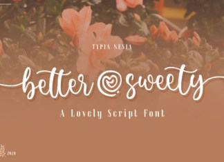 Better Sweety Font