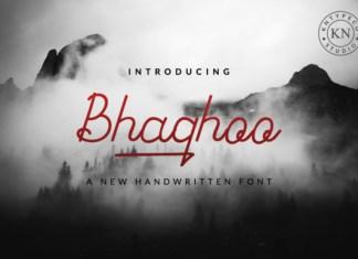 Bhaqhoo Font