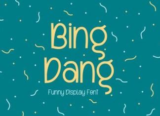 Bing Dang Font