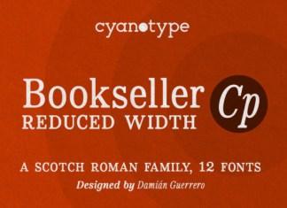 Bookseller Font