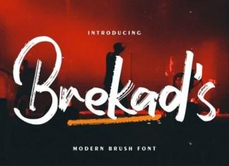 Brekad's Font
