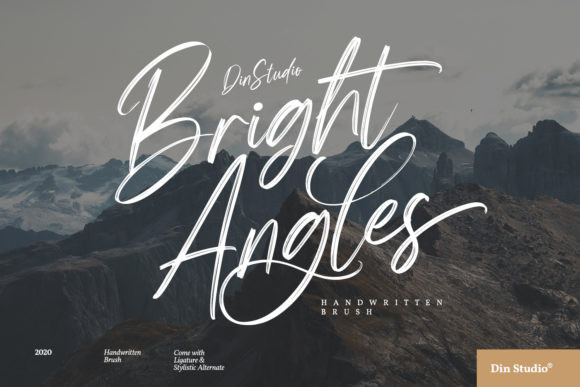 Bright Angels Font