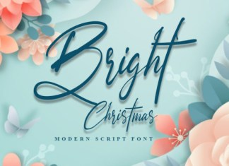 Bright Christmas Font