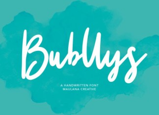 Bubllys Font