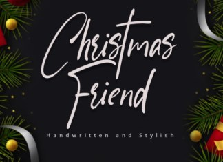 Christmas Friend Font