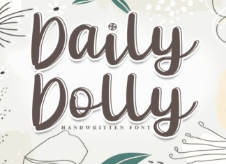 Daily Dolly Font