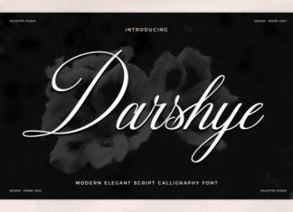Darshye Font