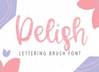 Delish Font