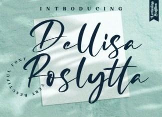 Dellisa Roslytta Font