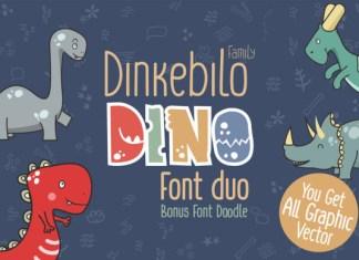 Dinkebilo Dino Font