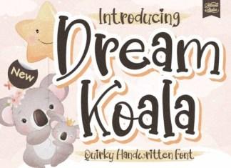 Dream Koala Font