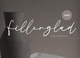 Fillerglad Font
