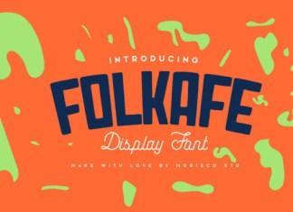 Folkafe Font