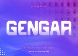 Gengar Font
