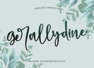 Gerallydine Font