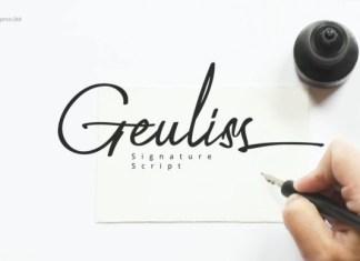 Geuliss Font