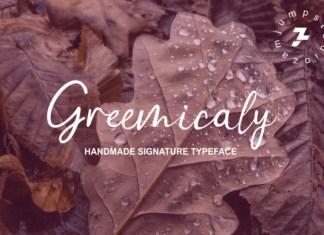 Greemicaly Font