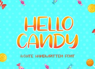 Hello Candy Font