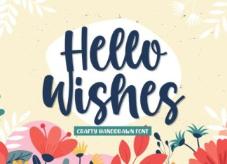 Hello Wishes Font