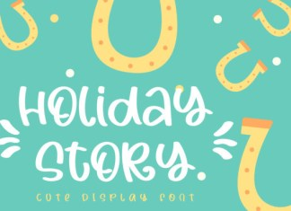 Holiday Story Font