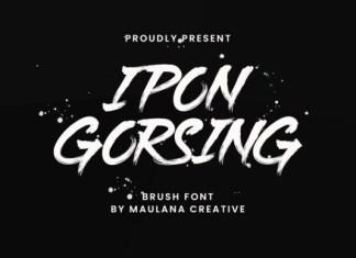Ipon Gorsing Font