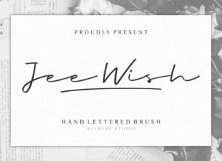 Jee Wish Font