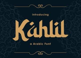 Kahlil Font