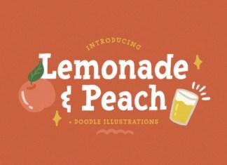 Lemonade & Peach Font