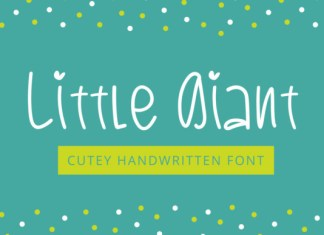 Little Giant Font