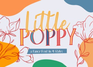Little Poppy Font