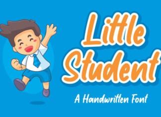 Little Student Font