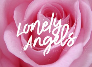 Lonely Angels Font