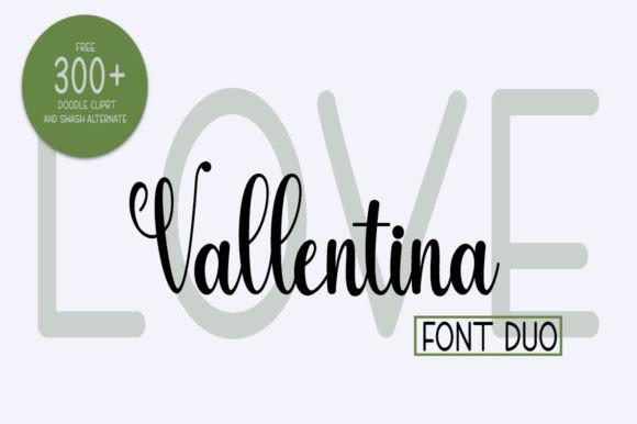Love Vallentina Duo Font