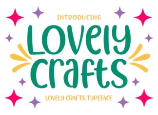 Lovely Crafts Font