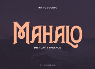 Mahalo Font