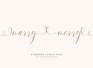 Marry Merry Font