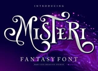 Misteri Font