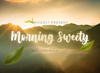 Morning Sweety Font