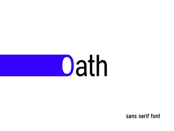 Oath Font