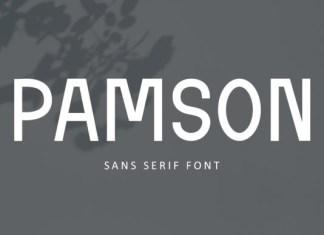 Pamson Font