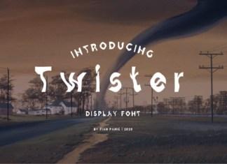 Panic Twister Font