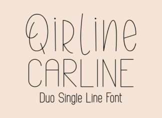 Qirline & Carline Font