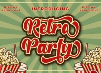 Retro Party Font