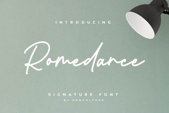 Romedance Font