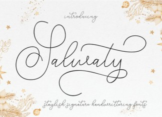 Salwaty Font