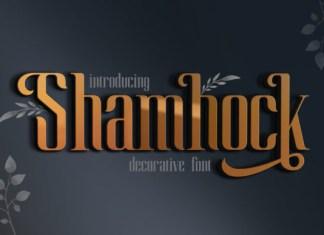 Shamhock Font